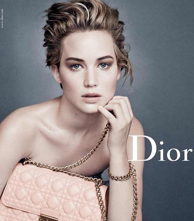 Jennifer Lawrence-Dior Campaign - ELLE