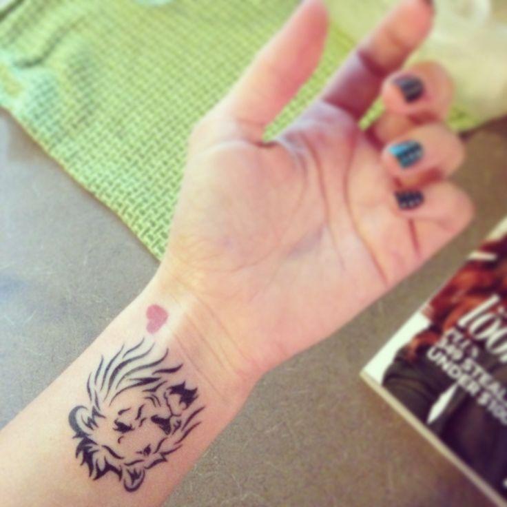 Leo tattoo at last!