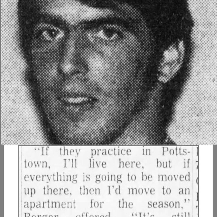Greg Berger in 1971 when the Pottstown Firebirds were in discussions to possibly move out of Pottstown which culminated with the Firebirds ceasing as a team in the town of Pottstown. Greg was a display of professionalism and doing whatever it takes to make it he played both WR and free safety defense and offense which in todays football is unthinkable. #football #nfl #minorleaguefootball #espn #pottstown #philadelphiaeagles #philly #football #americanfootball #usa #book #movies #scrip…