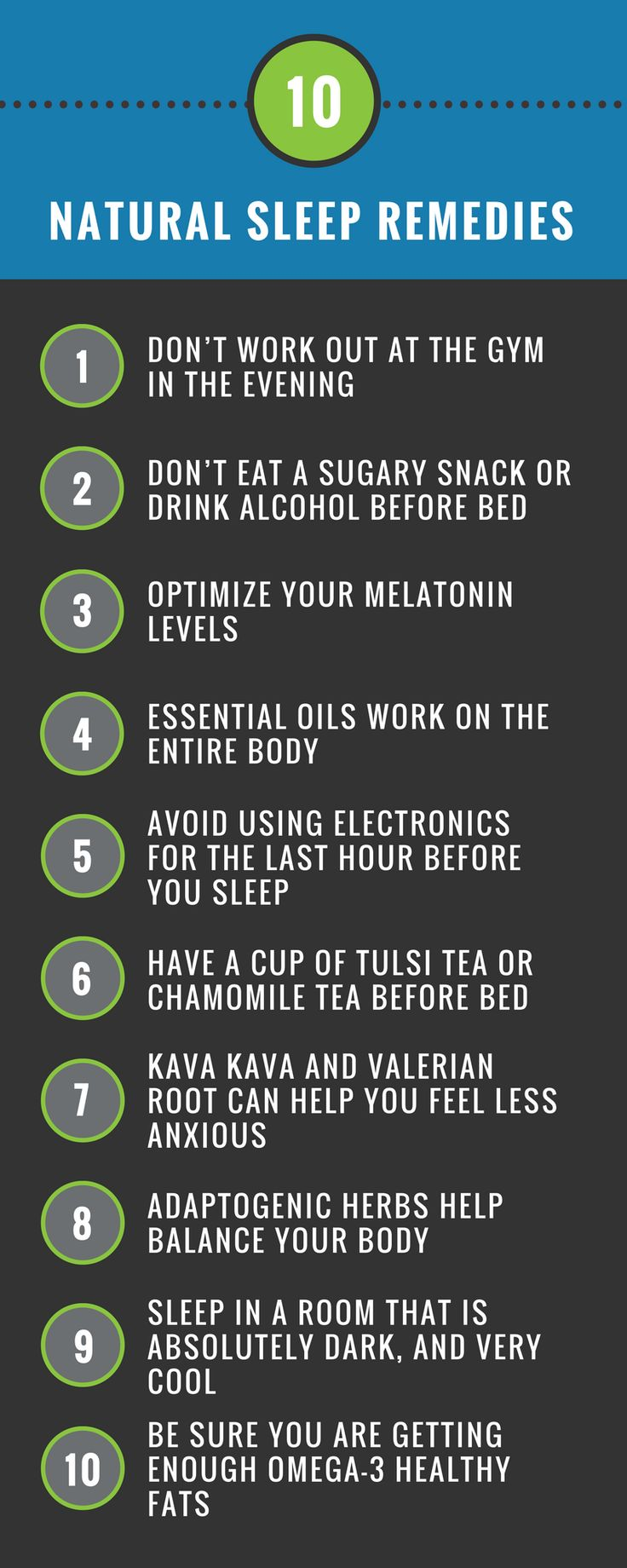 how to go to sleep and stay asleep