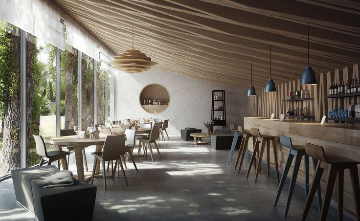 Cafe at the lake Balaton