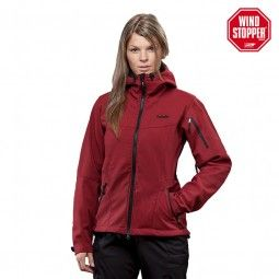 Damen-Softshelljacke aus original WINDSTOPPER: die TILAK MITRE WOMEN   #softshell #windsopper #bergsport #trekking