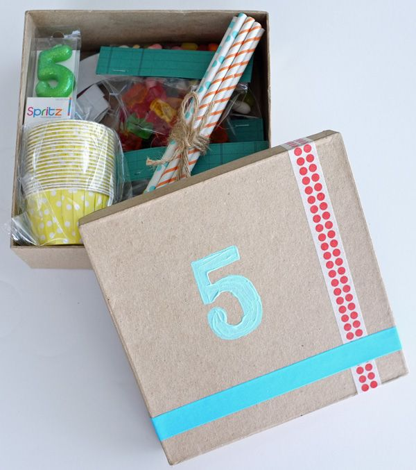 """Everything Needed for the """"Best Birthday Ever"""" Fit Into a Small Box 