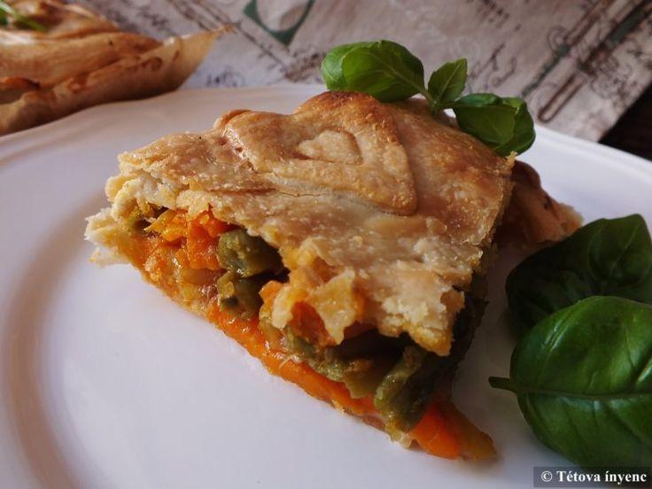 Húsos-zöldséges pite – Tétova ínyenc
