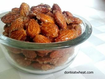 How to make your own HONEY ROASTED ALMONDS. Super simple- super yummy!