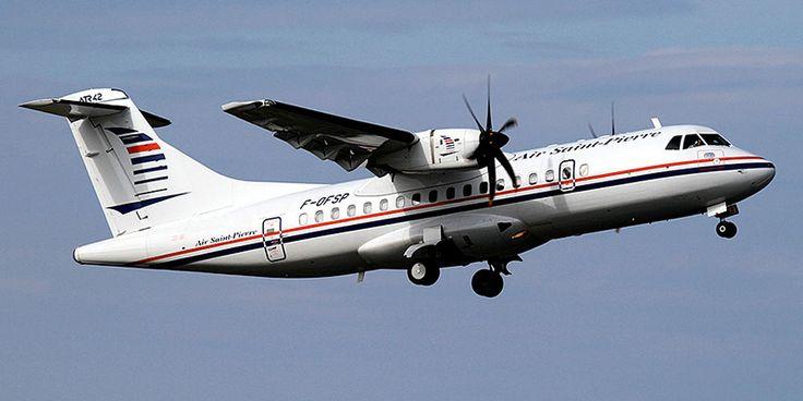 Самолет ATR 42 авиакомпании Air Saint-Pierre