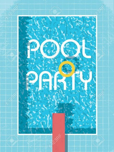 Einladung Poolparty Ausdrucken   Basteln   Pinterest