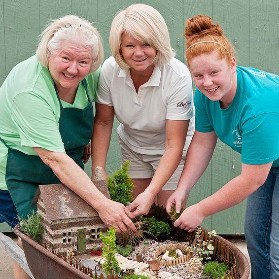 Plant Up a Wheelbarrow Fairy Garden