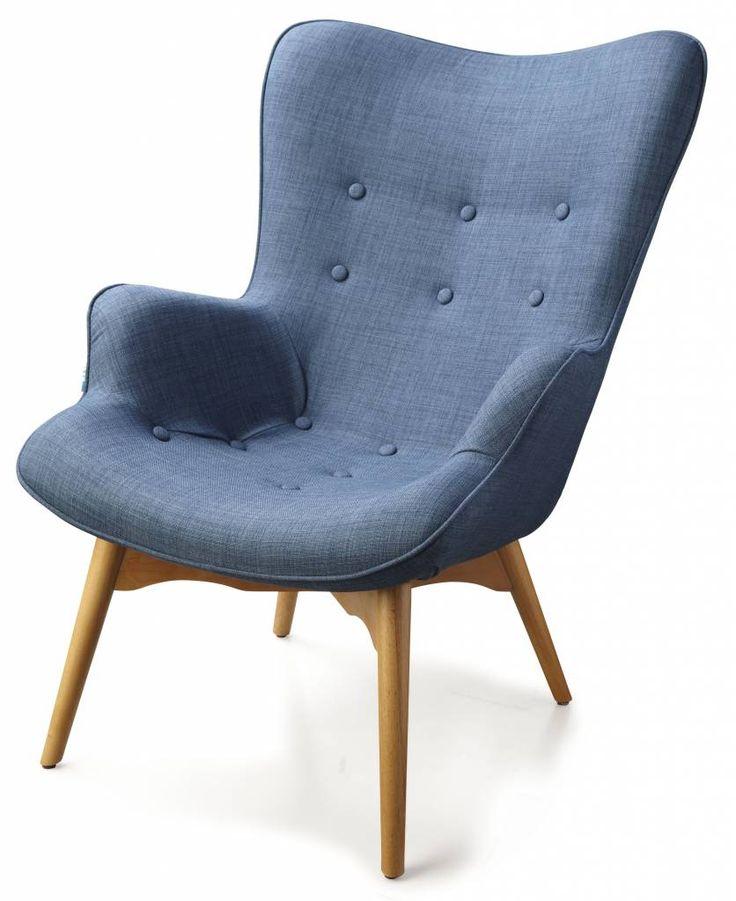 Dyyk Foxtrot stoel - blauw