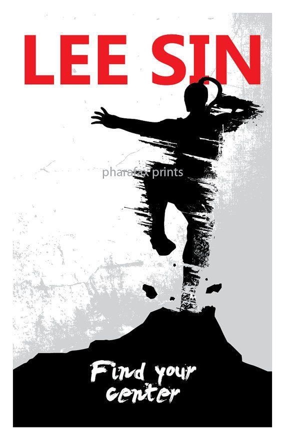 Lee Sin: League of Legends Print