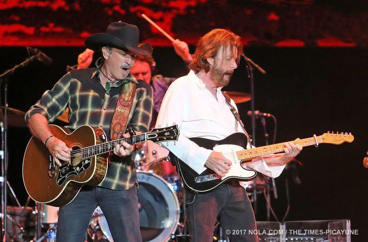 Brooks & Dunn perform at Bayou Country Superfest in the Superdome on Saturday, May 27, 2017