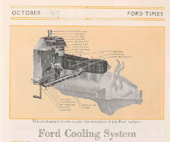 17 best images about 1926 model t restoration model t ford forum water pump or no water pump