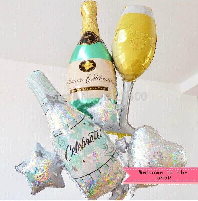 Купить 4 шт / lot бутылка из красное вино стекло из цвет шампанского день рождения шары костюм дети в игрушкии другие товары категории Шарикив магазине Balloon StoryнаAliExpress. игрушка пены и игрушка власти набор инструментов