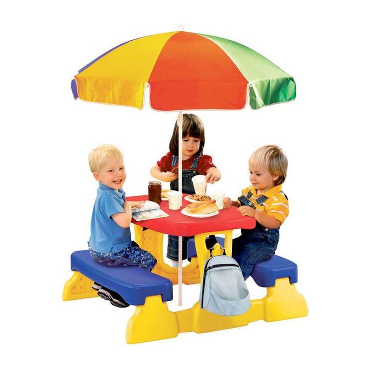 Qwikfold Picnic Table With Umbrella | Toys R Us Australia
