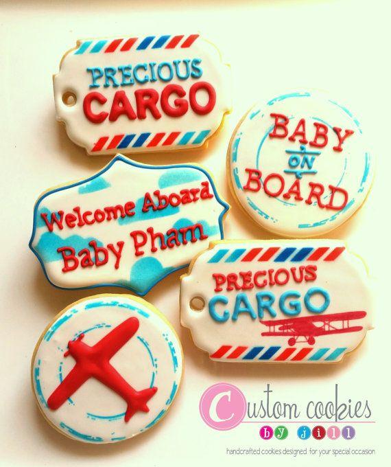 1 DOZEN  Pregnancy Announcement Pregnant Baby by JillCustomCookies