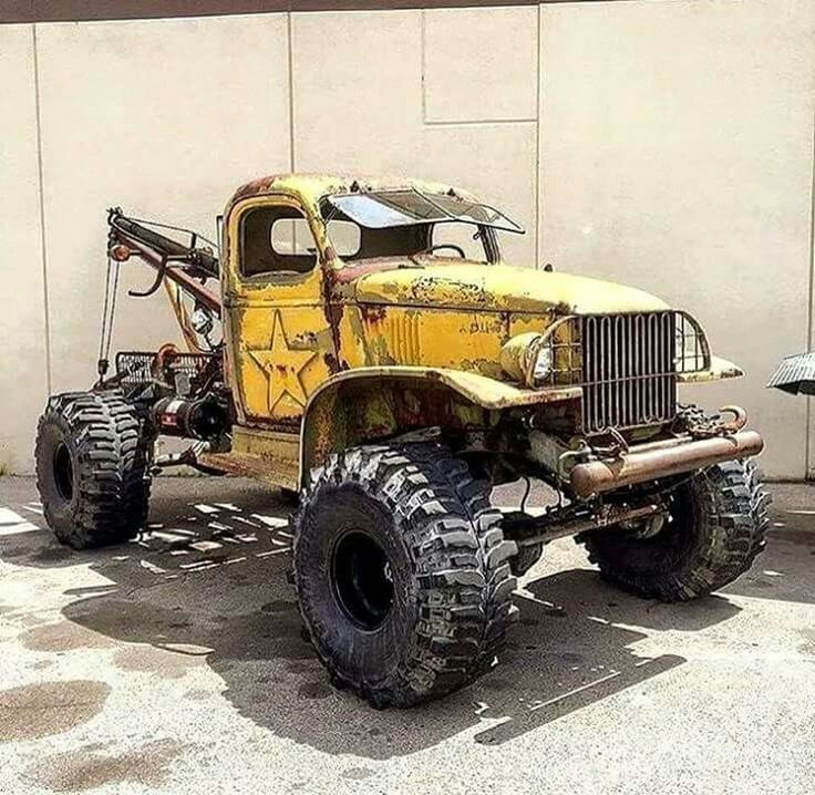 Of Use This Bad Apple Truck For A Towing Company