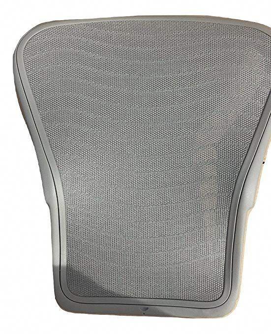 Herman Miller Aeron Chair Size B Reviews Gamer Walmart Replacement Back Zinc Gray Color Review
