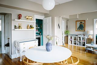 Sometimes it's not the wall knocked down or the whole room painted that's the visual impact your room needs — a small detail can pack a decor punch, too! The proof is in Erin and Tobin's cute Providen