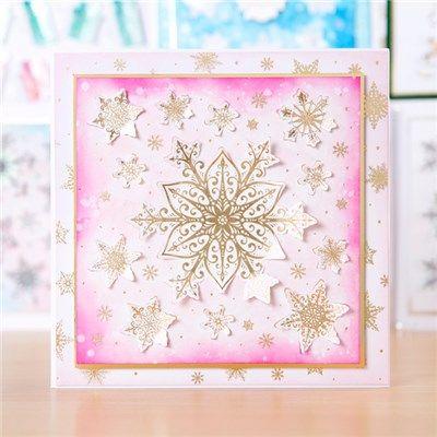 Hunkydory Christmas Liftables Pads - Sparkling Snowflakes and Christmas Cheer…