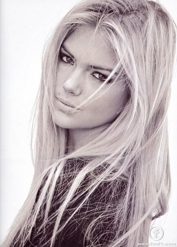 Kate Upton. Never realized how young she is! She's pretty freakin gorgeous though big or small