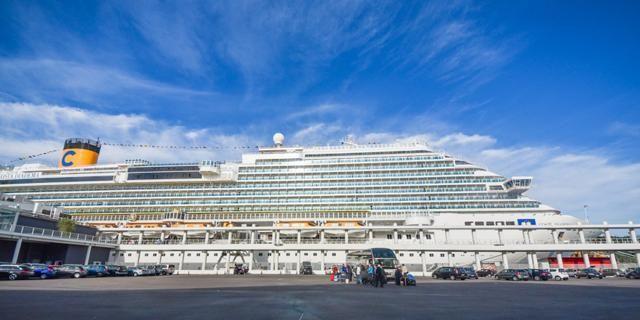 Savona ha accolto la Costa Diadema: inaugurato il nuovo terminal crocieristico