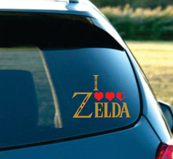 Shop for zelda decal on etsy the place to express your creativity through the buying and selling of handmade and vintage goods