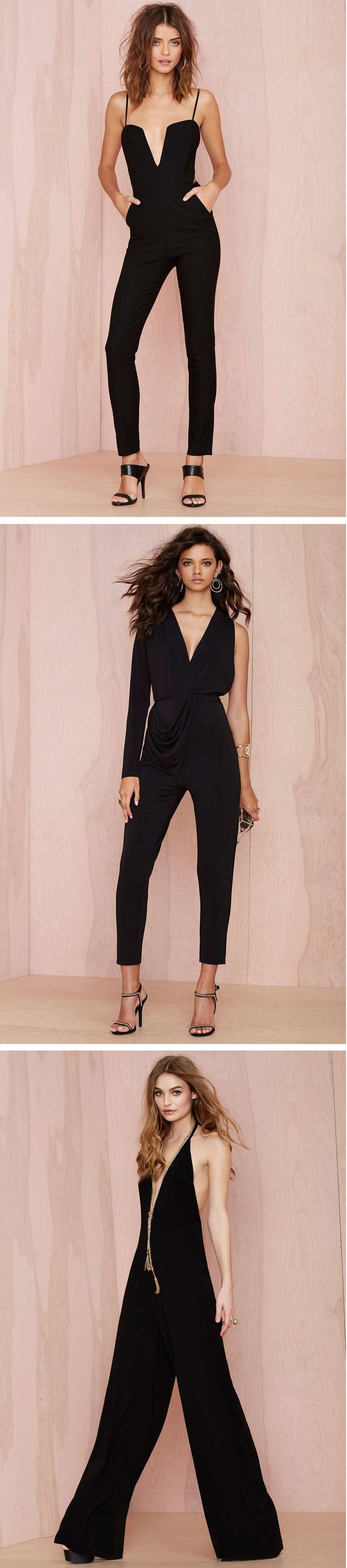 Switch up your going out look with a sleek romper.