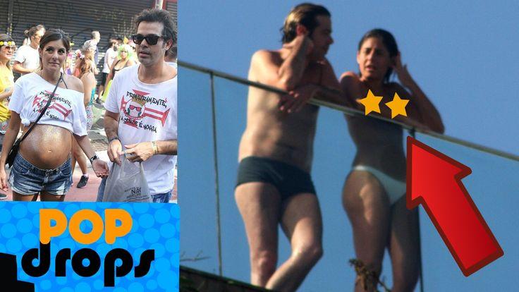 Mulher de Bruno Mazzeo desfila com barrigão de gêmeos #PopDrops @PopZoneTV  http://popzone.tv/2017/02/mulher-de-bruno-mazzeo-desfila-com-barrigao-de-gemeos-popdrops-popzonetv.html