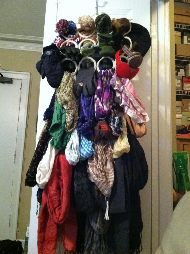 17 best images about scarf holder on pinterest calendar for Scarves hanger ikea