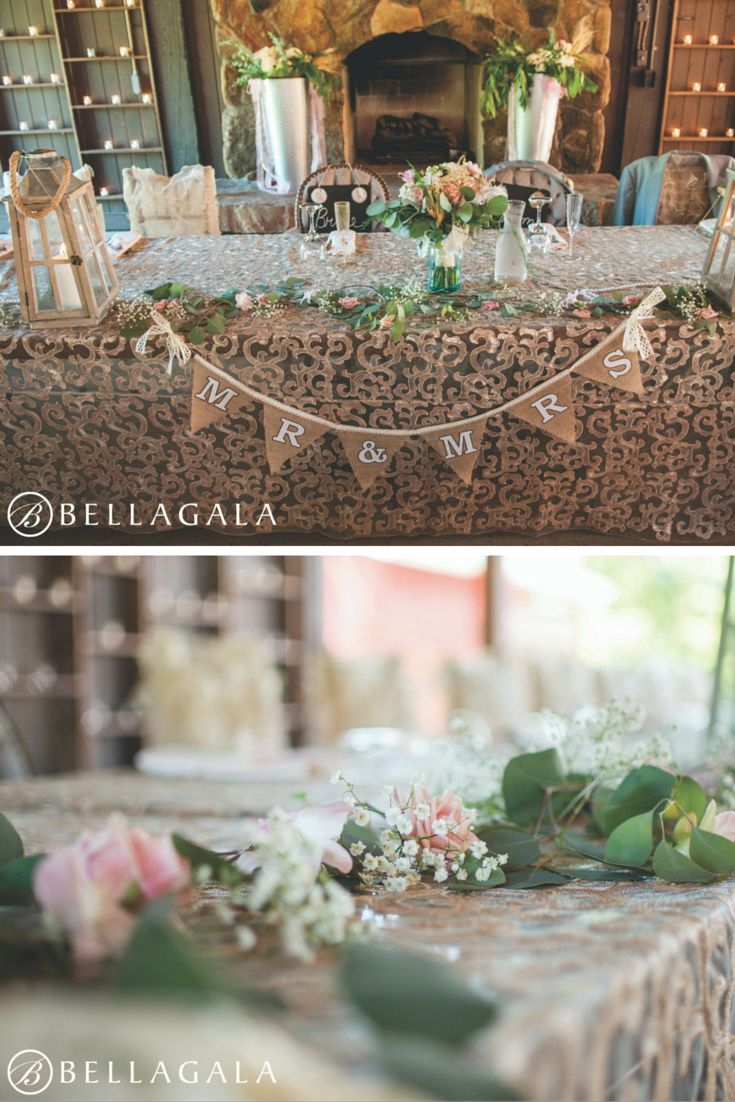 wedding reception minnetonkmn%0A Head table for a wedding at Hope Glen Farm in Cottage Grove  MN  Floral  designed by Minneapolis wedding florist Artemisia Studios  Photos by  Bellagala