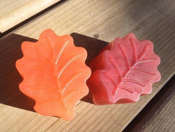 Autumn Leaf natural soap coconut oil + essential oils