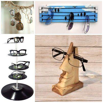 50 legjobb szemüveg tárolási ötlet. Készítsd magad.
