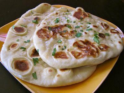 DIY Naan bread: Naan Breads, Fun Recipe, Breads Recipe, Super Easy, Eating, Indian Foods, Bread Recipes, Homemade Naan, Greek Yogurt