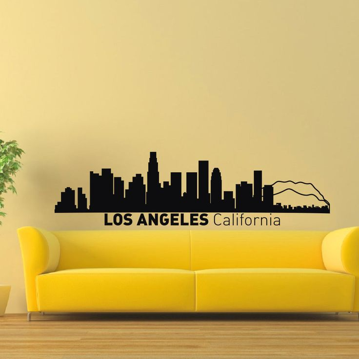 Best Art InkCity Images On Pinterest City Skylines - How to make vinyl wall decals with silhouette cameo