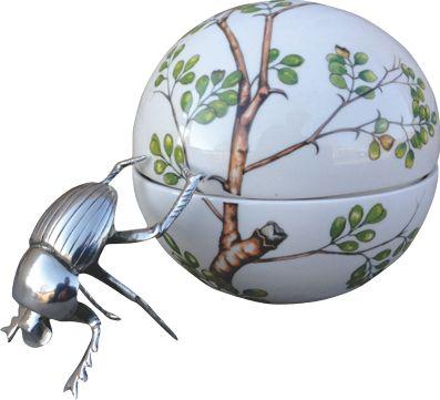 Dung Beetle Acacia Leaf Large Ball - ZAR3400.00