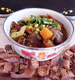 Este estofado de cochayuyo es muy sabroso con variadas verduras.Ya les había presentado esta rica alga en otras recetas.Tiene un alto...