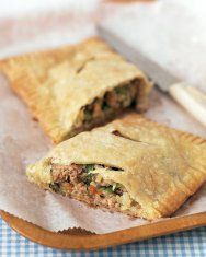 Chicken and Kale Hand Pies with Cheddar Crust | Recipe