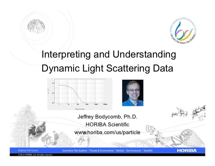 interpreting-and-understanding-dynamic-light-scattering-size-data by HORIBA Particle via Slideshare