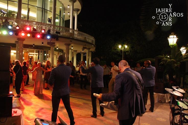 The dance in Jardines de Nivaria  #Tenerife#hotel#Costaadeje#hotellujo