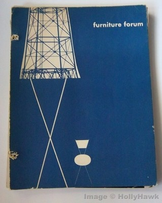 would like to buy...Mid-Century FURNITURE FORUM Handbook Contemporary Design 1951 Vol 2 No 1-4