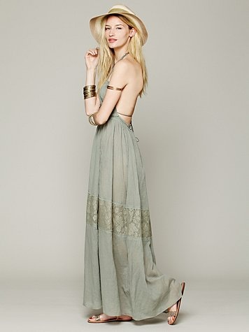 Free People Endless Summer Triangle Top Maxi- Kind of one of those summer must haves!!!