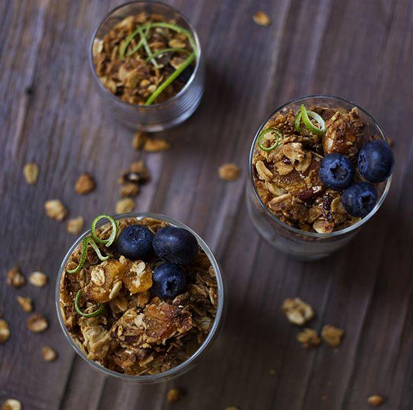 Apricot, Macadamia and Honey Granola recipe | All4Recipes