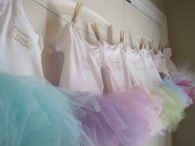 tutu onesies-rlly cute idea! yay! here's one that you can hand-sew onto the onesie instead of using elastic. :)