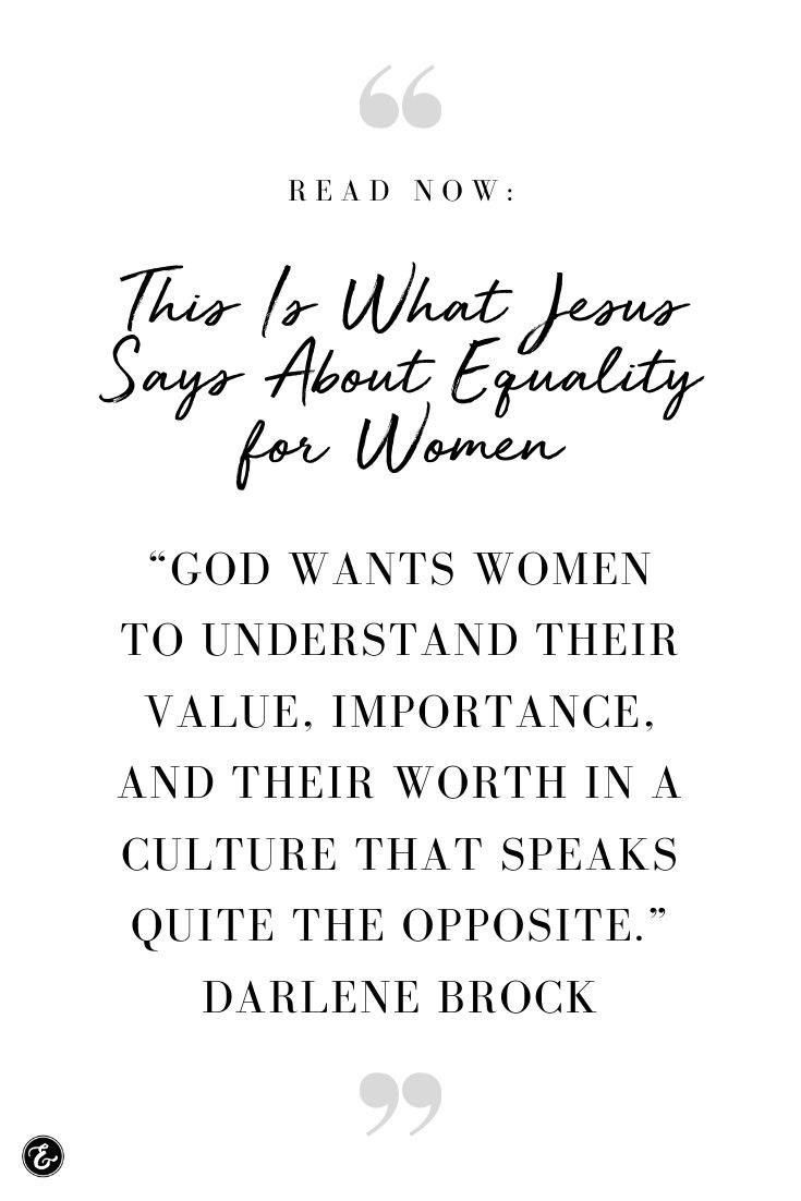This Is What Jesus Says About Equality For Women Jesus Quotes