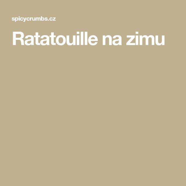 Ratatouille na zimu