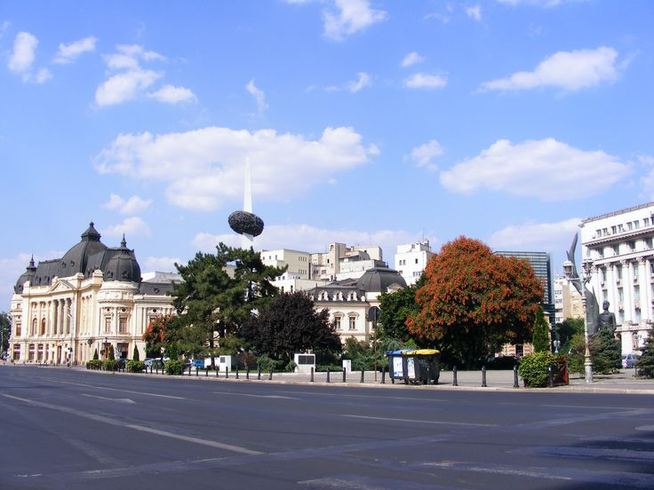Bucharest, Revolution Square. This is the place where Romanian Anticommunist Revolution took part in 1989. More than 1100 ere killed. http://www.touringromania.com/regions/bucharest.html