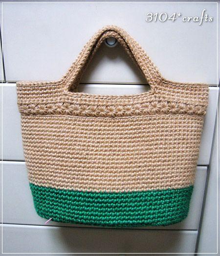 3104*crafts | 麻ひもバッグ