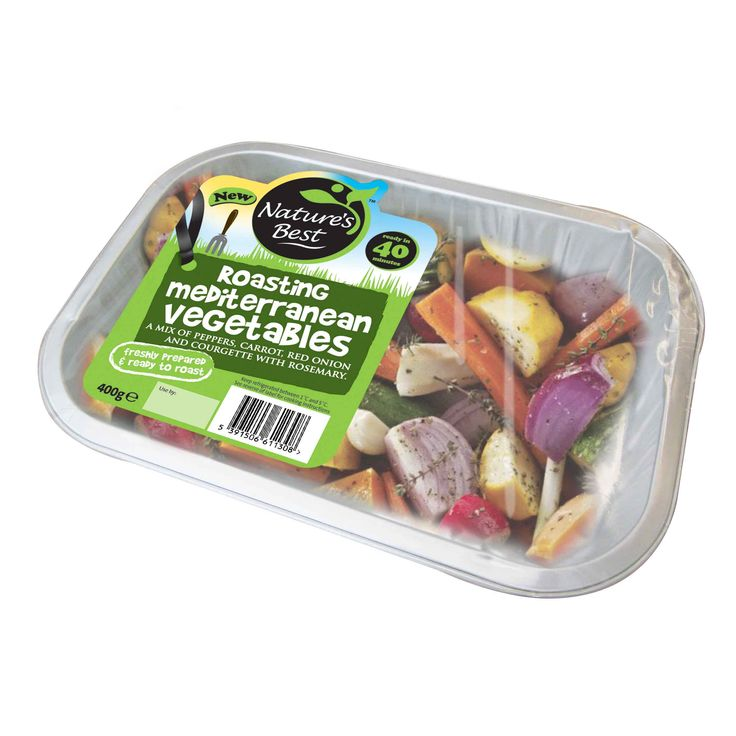 Nature's Best Roasting Vegetables Brand & Packaging by Mesh Design, Dublin. www.meshdesign.ie