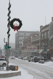 A view of Phillips Ave. in Downtown Sioux Falls. | Visit Sioux Falls