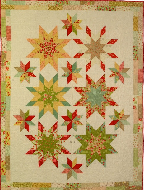 106 Best Images About Quilt Diamond Star On Pinterest